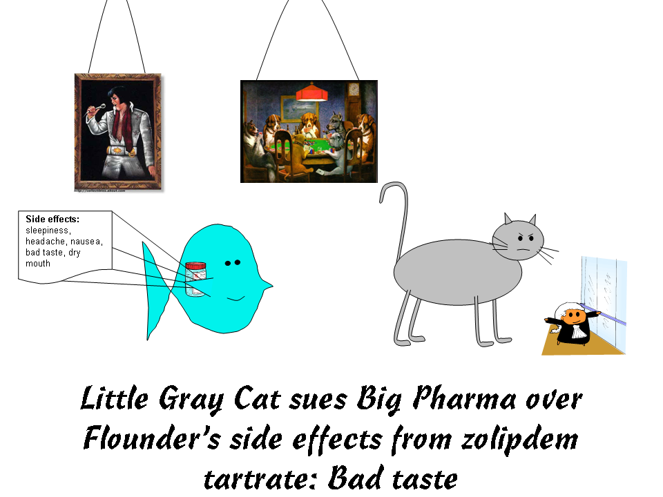 Little Gray Cat sues Big Pharma over the side effects of zolpidem ...