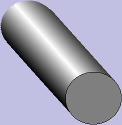 how to draw a straight line on a cylinder